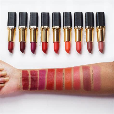 L Oreal Color Riche Matte loreal color riche matte addiction lipstick review