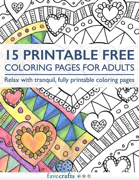 free coloring book pages 15 printable free coloring pages for adults pdf
