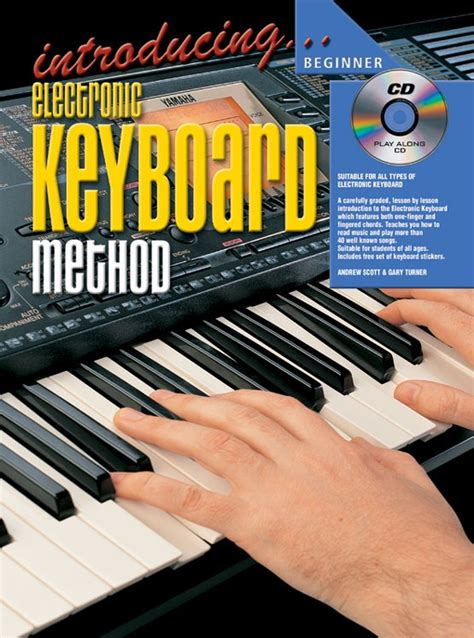 electronic keyboard tutorial books introducing electronic keyboard book 1