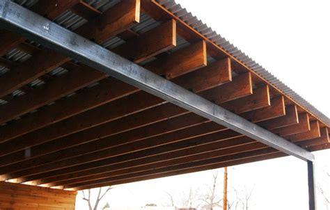 modulus architekten wood steel carport minimalistisch garage