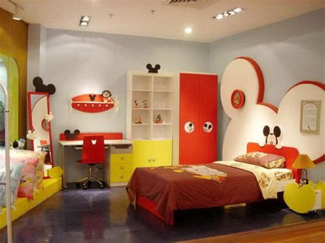 kid room accessories mickey mouse themed room designs and furniture