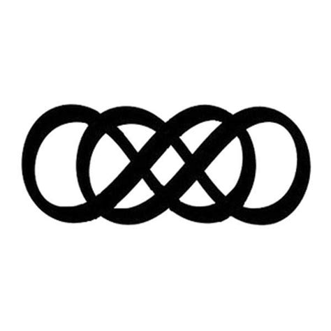 double infinity tattoo meaning be unique black infinity temporary flash tattoos