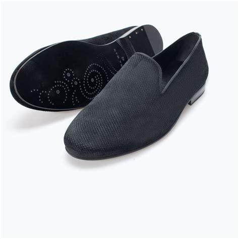 zara slipper shoes zara hombre chinela terciopelo slippers