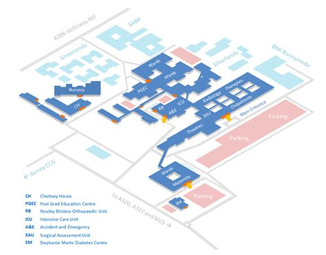 Floor Plan Of A Shopping Mall by Hospital Site Maps