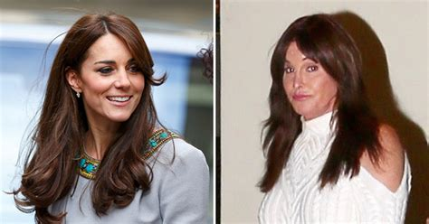 kate middleton looks gorgeous with new hairstyle rides caitlyn jenner s new haircut looks like kate middleton s