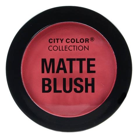 City Color Blush buy city color matte blush coral boozyshop