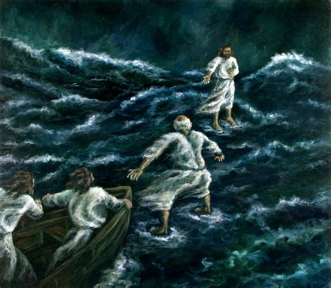 getting more out of mass something more faith series books jesus walking on water walking on water matthew 14