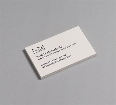 32 inspiring architect business card designs