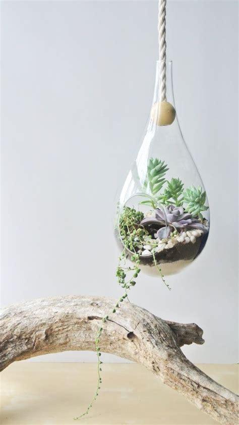 Terrarium Planter by Modern Dewdrop Hanging Planter Planter Diy Home Decor