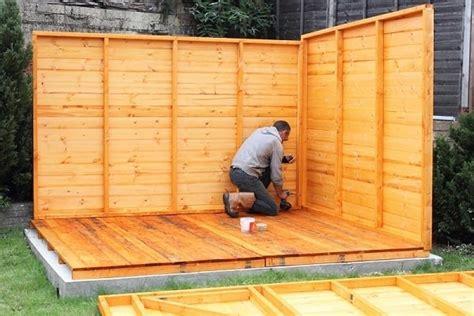 shed foundation kit guide zacs garden