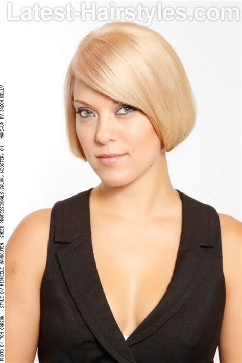 rounded bob haircut pictures 27 super short haircuts for a totally new you