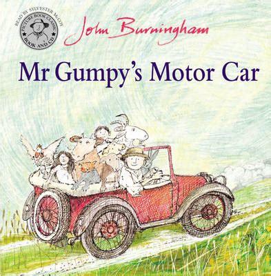 libro mr gumpys motor car mr gumpy s motor car book and cd by john burningham buy books at lovereading4kids co uk