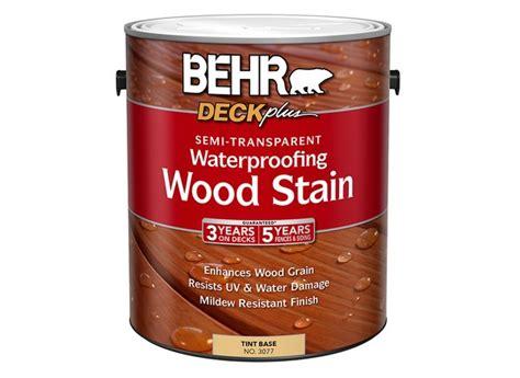 behr deckplus semi transparent waterproofing wood stain