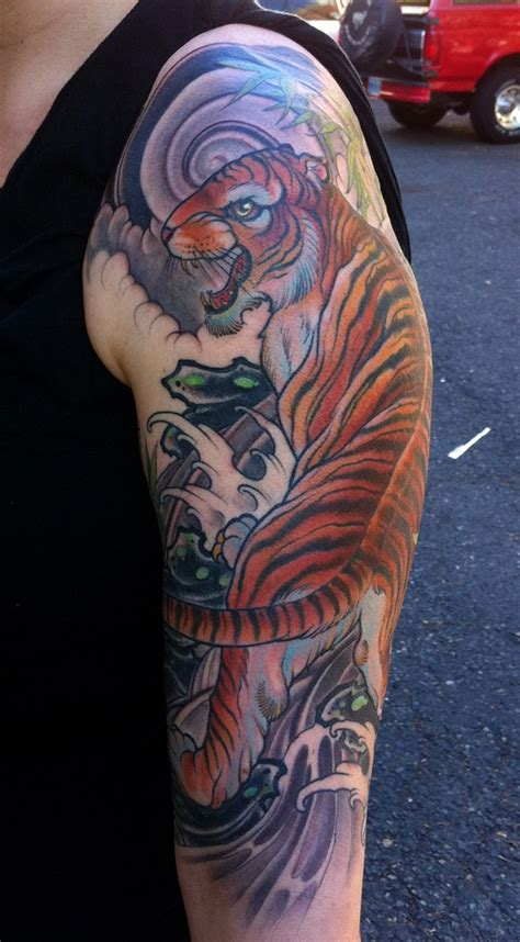 tiger tattoo sleeve designs tiger designs for 60 designs