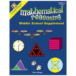 supplement in math mathematical reasoning middle school supplement math