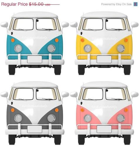 volkswagen van front view 70 off thru 6 13 bus clipart transportation clip art