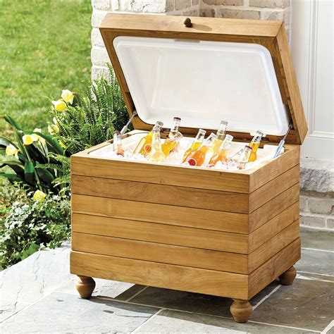 Ice chest cooler covers completed cooler gronomics western red cedar wood cooler mods and