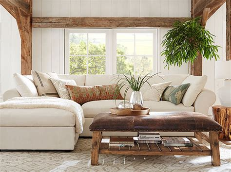 natural living room pb air natural living room pottery barn