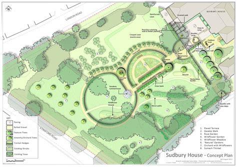 landscape layout pictures wedding venue garden design oxfordshire acla ltd