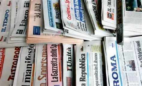 a chi appartengono le principali testate giornalistiche
