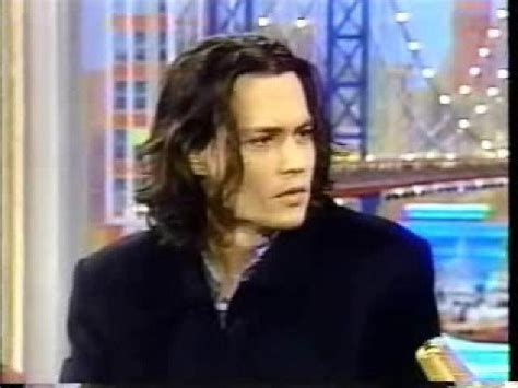 Rosie Shows Again by Johnny Depp On Rosie Show 1999