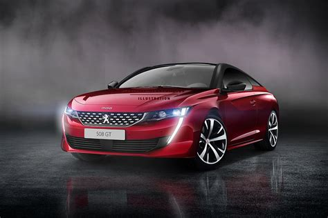 peugeot coupe peugeot 508 looks even more enticing as a coupe