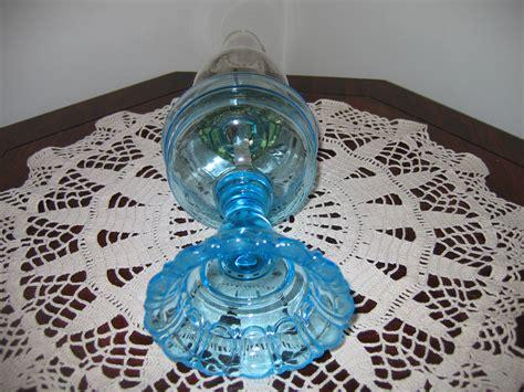 Glass Kerosene For Sale Antique Vintage Kerosene Light Blue Translusent Colored