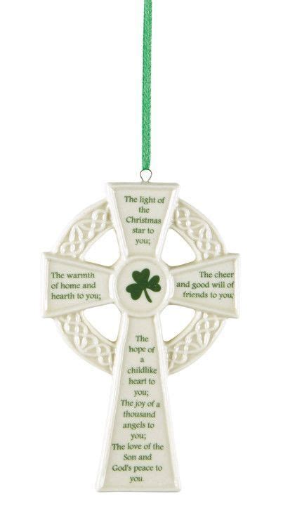 invocation christmas decorations cross prayer tree ornaments set of 4 learning tree
