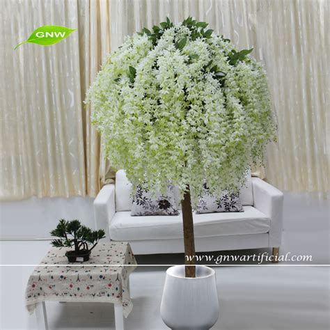 wedding table tree centerpieces uk gnw 4ft white wedding decoration centerpieces table mini cherry blossom tree for wedding