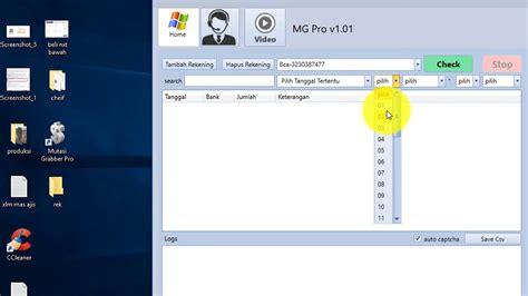 Tutorial Penggunaan Software Zahir   tutorial penggunaan software mg pro youtube