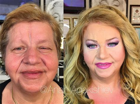 what make up should 70 year old woman wear instagram beauty blogger anar agakishiev makes women look