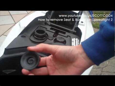remove seat bucket  peugeot speedfight  youtube
