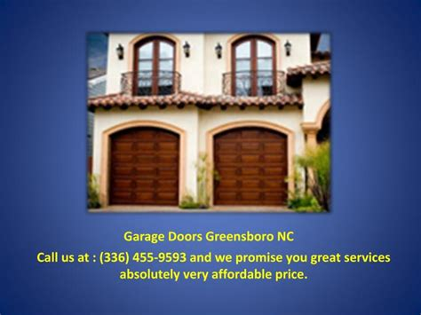 Overhead Door Greensboro Nc Ppt Garage Door Repair Greensboro Powerpoint Presentation Id 7248033