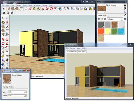 google sketchup rendering tutorial shaderlight from sketchup model to finished render