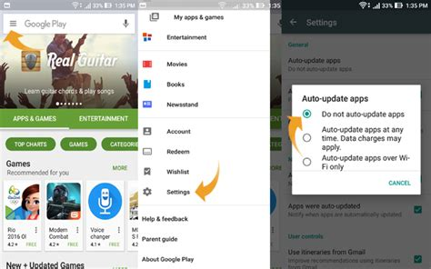 Play Store Settings How To Prevent Automatic App Downloads On Android