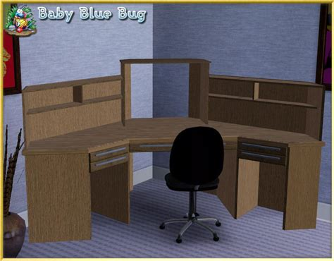 office max desk babybluebug s bbb office max deluxe corner desk with hutch