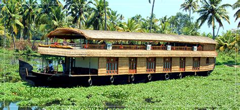 4 Bedroom Houseboat Alleppey by Alleppey Houseboats Kerala Houseboats Luxury