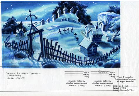 House Drawing monkey island 2 lechuck s revenge concept art the