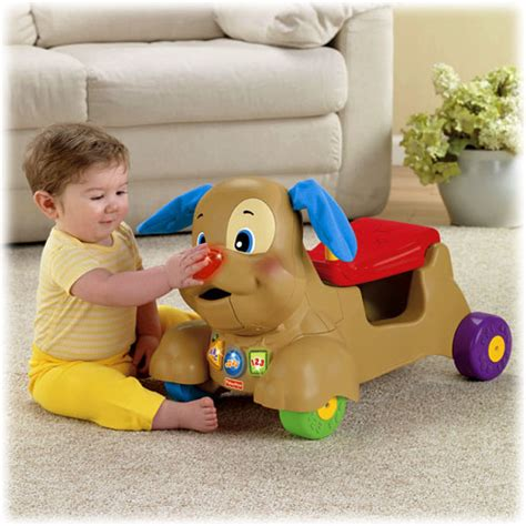 fisher price ride on puppy laugh learn 174 stride to ride 174 puppy