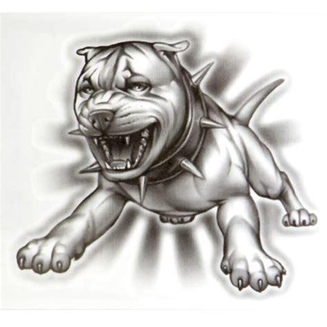 og abel tattoo designs og abel realistic temporary quot hound quot