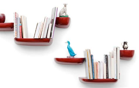 small floating shelves that looks modern and