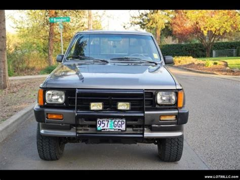 1988 toyota manual classic 1988 toyota sr5 2dr 3re 5 speed manual