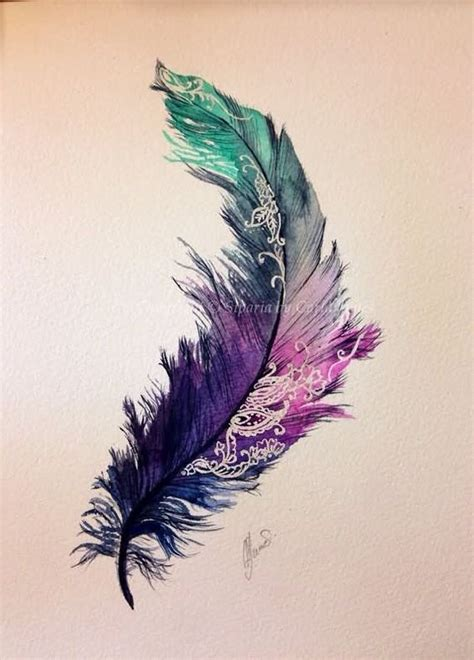 feather tattoo designs pinterest watercolor feather tattoo design tattoos pinterest