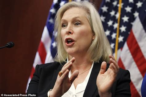 kirsten gillibrand careers al franken could resign from the u s senate today daily