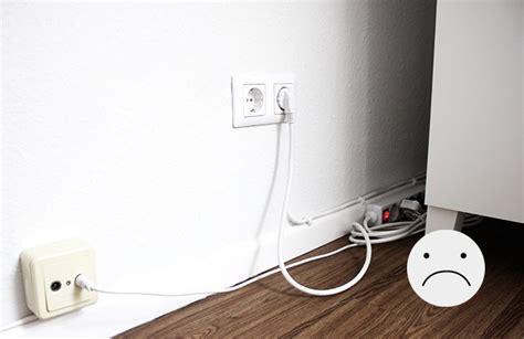 kabelsalat verstecken kreative ideen yarial kabel am tv verstecken interessante ideen