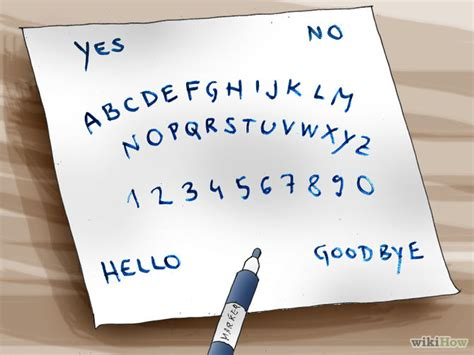 How To Make Ouija Board Out Of Paper - how to create a ouija board with printable ouija board