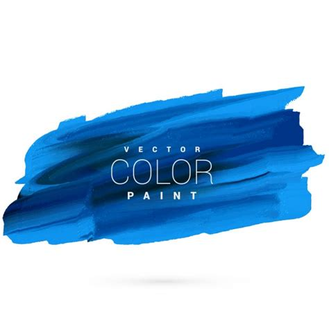paint design blue paint stain vector design vector free