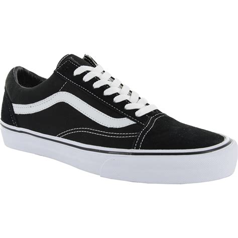 vans skool skate shoes black white 4forty co uk