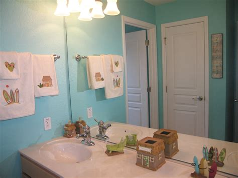 Beach themed bathroom sunkissed villas