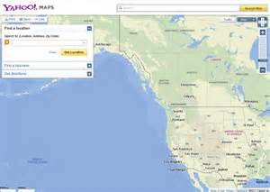 yahoo maps canada yahoo maps now powered by nokia in the us and canada